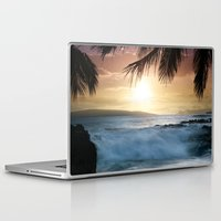 onward Laptop & iPad Skins featuring integrations by Sharon Mau