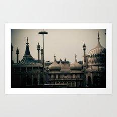 Dreams of India Art Print
