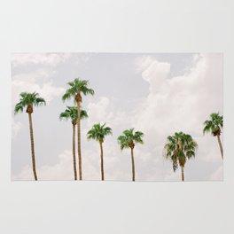 Palm Springs Palm Trees Rug