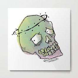 pastel skull Metal Print