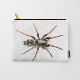 Sergiolus montanus, a stealthy ground spider Carry-All Pouch