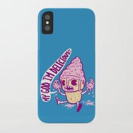 Melting Ice Cream iPhone Case