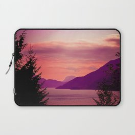 Sunset Sea to Sky Laptop Sleeve