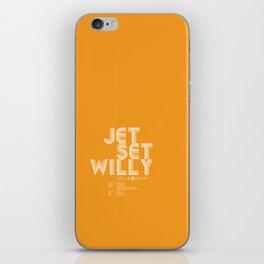 Jet Set Willy iPhone Skin