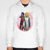 nightcrawler Hoodies featuring Demon and Angel by Kimball Gray