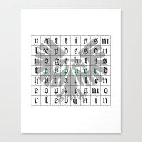 warhammer Canvas Prints featuring Cypher, Warhammer 40K by ZsaMo Design