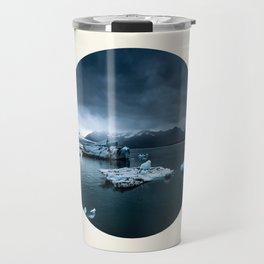 Arctic Ice Landscape Travel Mug
