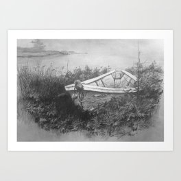 """Unsinkable"" Art Print"