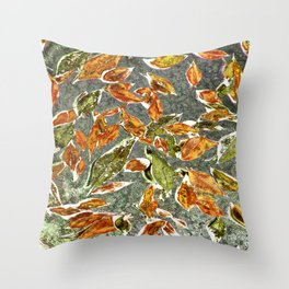 Softly Falling, Breeze Throw Pillow
