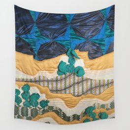 Deserted Stormscape Wall Tapestry