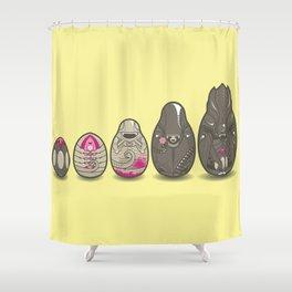 Xenomatryoshka Shower Curtain