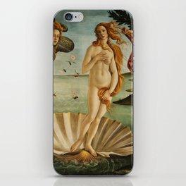 Birth Of Venus Sandro Botticelli Nascita di Venere iPhone Skin