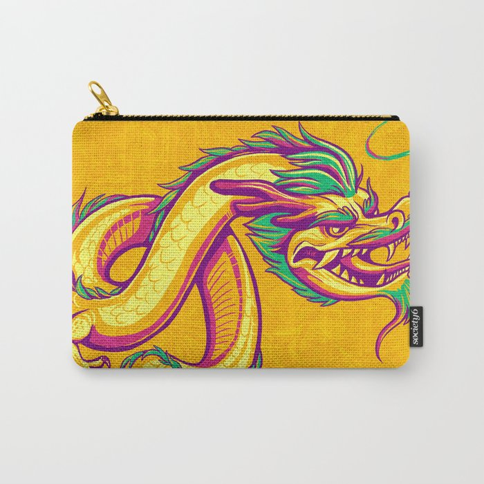 Bonsai Dragon Carry-All Pouch