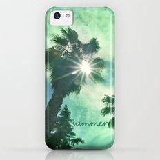Vintage beach Slim Case iPhone 5c