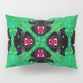 Tropical Gothic Pattern  Pillow Sham