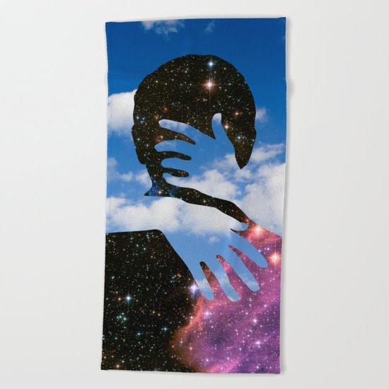 Sky Kiss Beach Towel