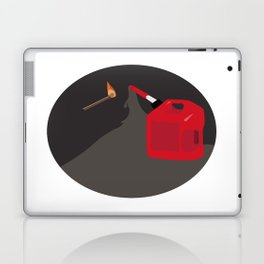 Burn it to Hell Laptop & iPad Skin