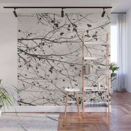 boughs pale Wall Mural
