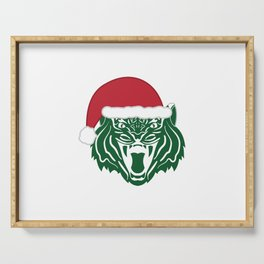 Christmas Tiger Serving Tray