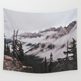 Fog in the Cascades Wall Tapestry