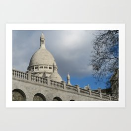 Sacré Cœur de Montmartre Art Print