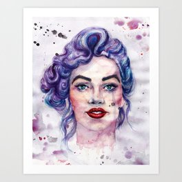 Modern Marylin  Art Print