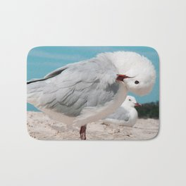 Seagull Byron Bay Beach Photography Australia Bath Mat