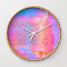 00-36-36 (Face Glitch) Wall Clock