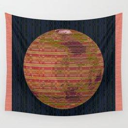 Stripey Mars Wall Tapestry
