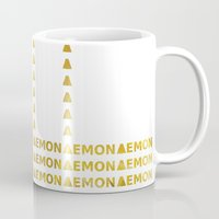 lemon Mugs featuring Lemon by ARTbyJWP