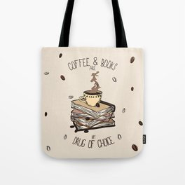 Coffee And Books Tote Bag