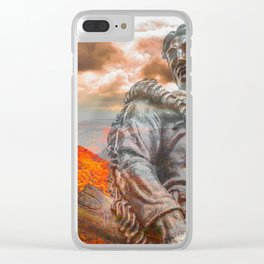 West Virginia Almost Heaven Clear iPhone Case