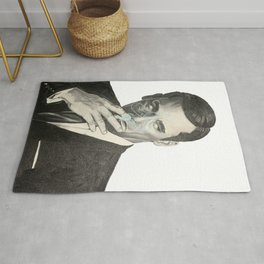 Don Draper's Blue Smoke Rug