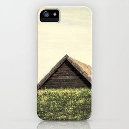 Magical Tiny House Iceland iPhone Case