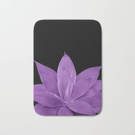 Purple Agave #1 #tropical #decor #art #society6 Bath Mat