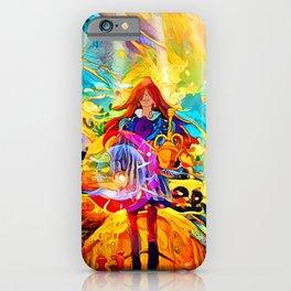 wizard dad iPhone Case