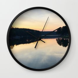 View From the Course Wall Clock