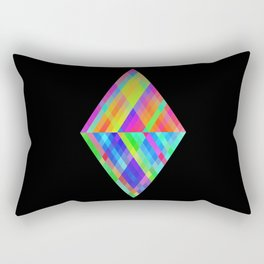 Vesixa Pixels Rectangular Pillow