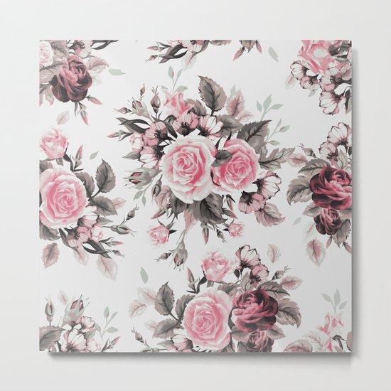 Roses 2 Metal Print