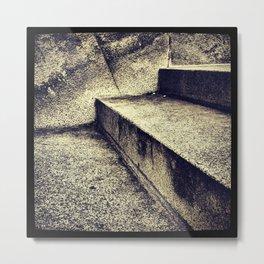 'SIMPLE STEPS' Metal Print