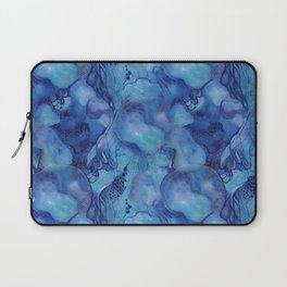 Blue happiness or when you feel blue but not sad Laptop Sleeve