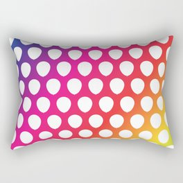 Balloon Pattern Rectangular Pillow