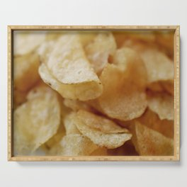 Potato Chips Serving Tray