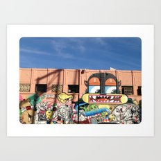 Street Things  Art Print