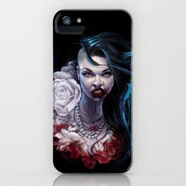 """Marceline  """"shades of red"""" iPhone Case"""