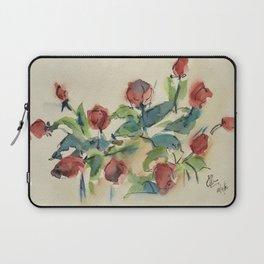 Roses 3 (watercolor) Laptop Sleeve