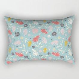 Garden Flowers Style J Rectangular Pillow