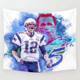 Superbowl routine Wall Tapestry