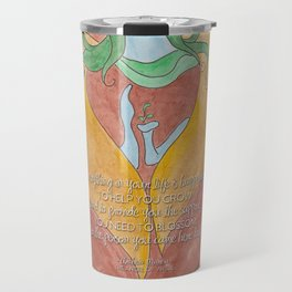 Mareia To Help You Blossom Travel Mug