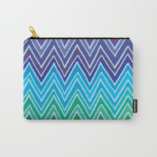 Come with me and with colors Carry-All Pouch